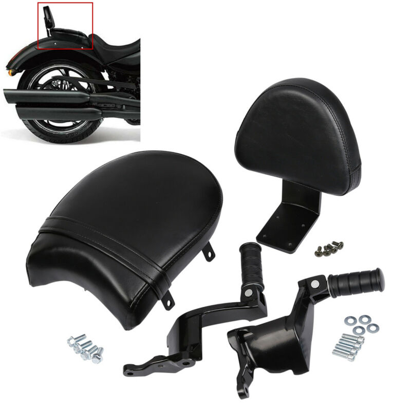 Motorcycle Rear Footrest Mount Passenger Seat Backrest For Victory High ball Gunner Vegas
