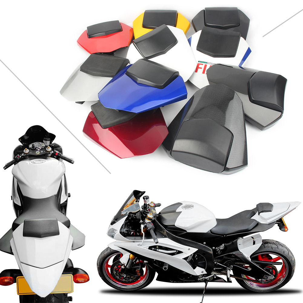 Motorcycle Seat Cover Rear Pillion Passenger Cowl Back Cover Fairing For Yamaha YZF R6 2008 2009 2010 2011 2012 2013 2014 2015