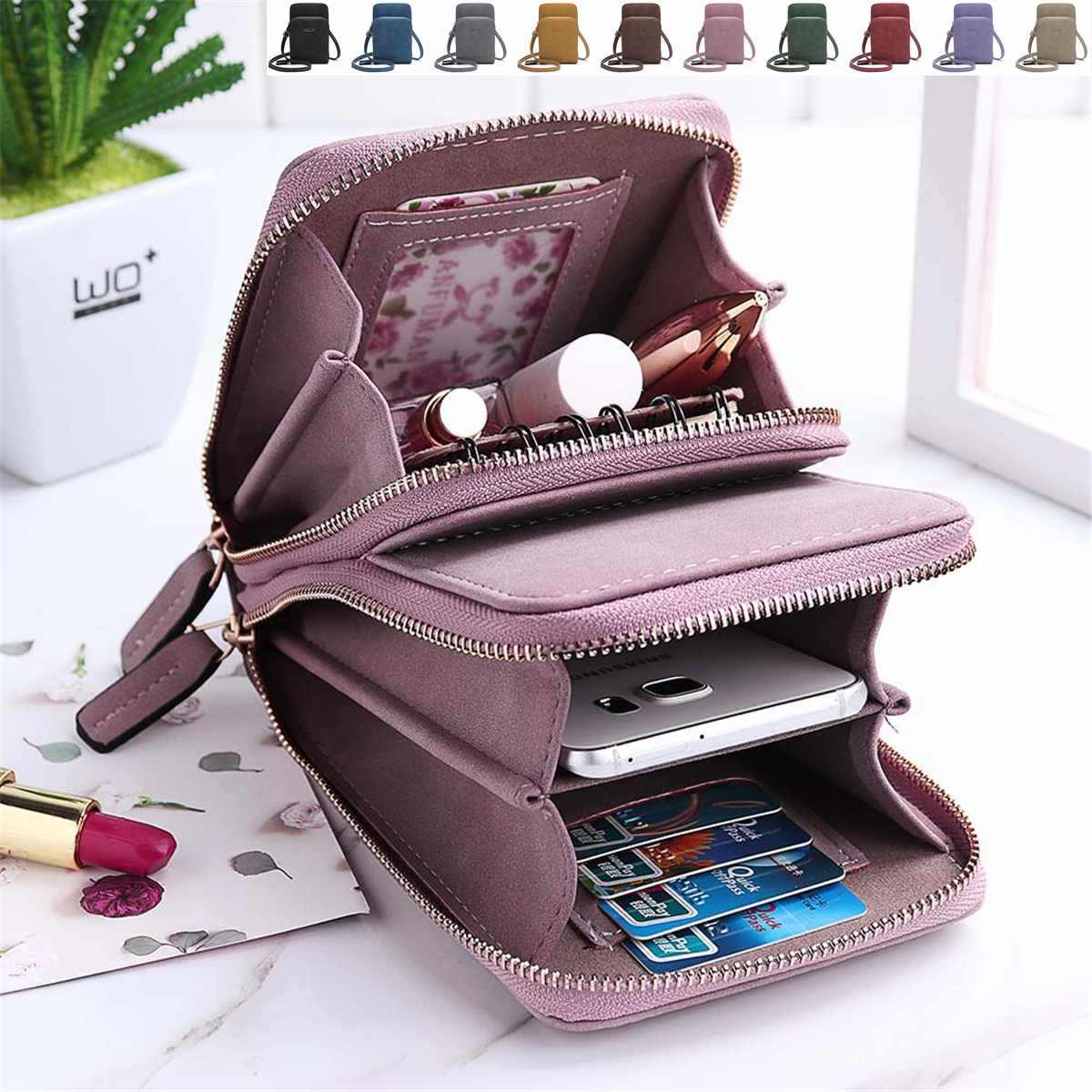 Osmond Bolsa Feminina Small Hand Bag PU Leather Mini Crossbody Bags Women Pink Messenger Bags Female Clutch Phone Purse Card Bag