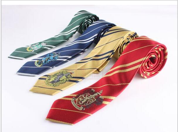Harri Potter Tie Costume Accessories Gryffindor Series Tie Harri Potter Ravenclaw College Neck tie Cosplay Gifts For Men Women