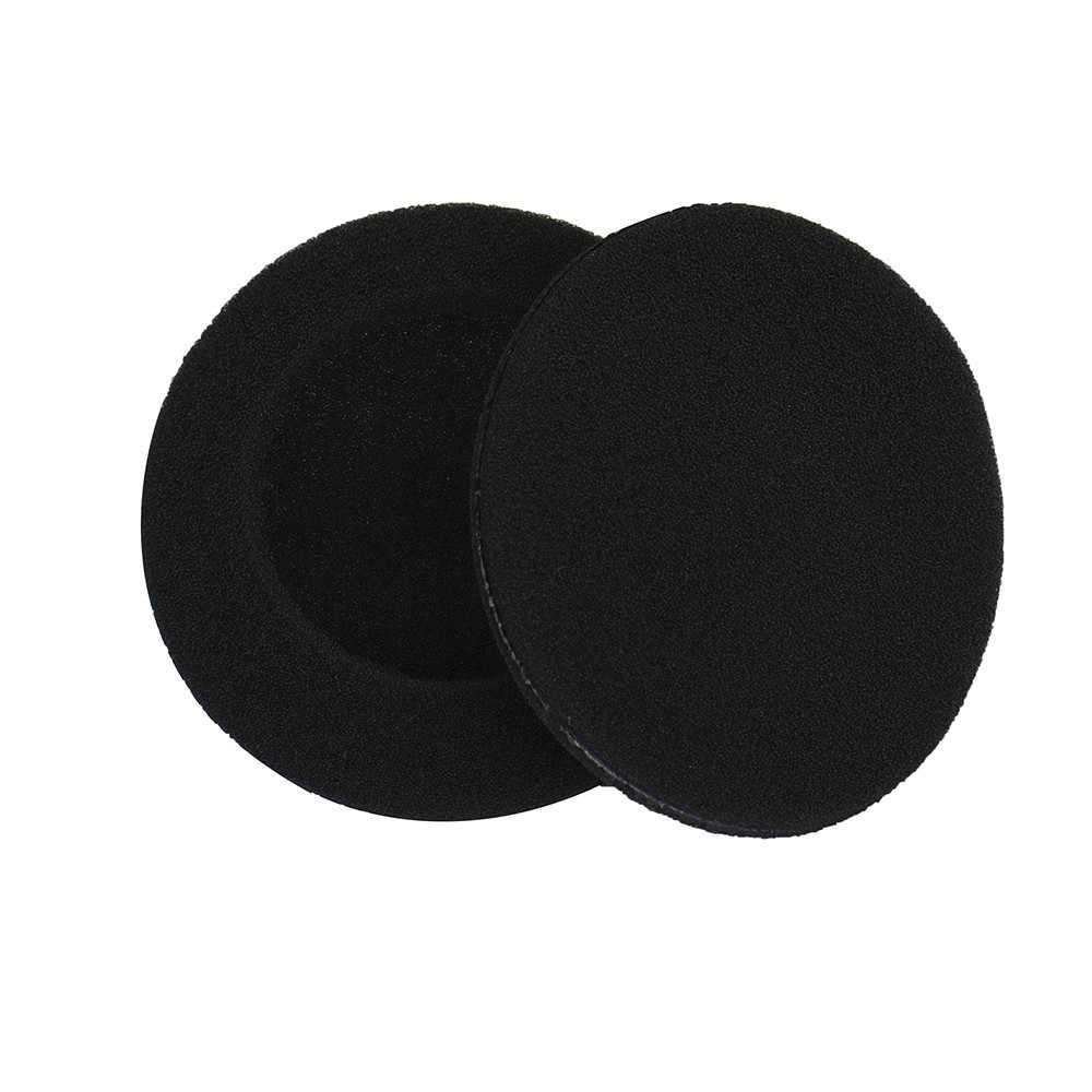 10 sztuk 55mm wkładki piankowe zmywak nauszniki pokrowiec na słuchawki do zestawu słuchawkowego słuchawki nauszne słuchawki sportowe słuchawki bezprzewodowe