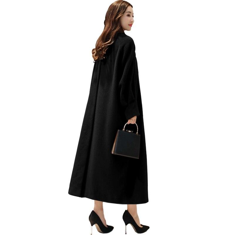 Новые зимние шерстяные Пальто для будущих мам дамы Костюмы 2017 Корейская свободная темп ...