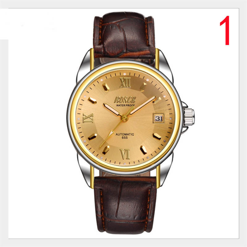 лучшая цена New simple concept automatic mechanical watch Korean fashion student watch men quartz waterproof men watch
