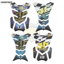 46 Stickers Rossi Motorcycle Sticker Tank Pad Protector Sticker Moto Fishbone Decals for Honda Yamaha Suzuki Kawasaki Universal