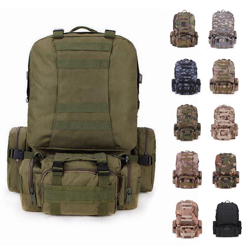 Sac à dos extérieur Molle militaire sac à dos tactique sac à dos sac de sport Camping randonnée sac à dos pour voyage 12 couleurs