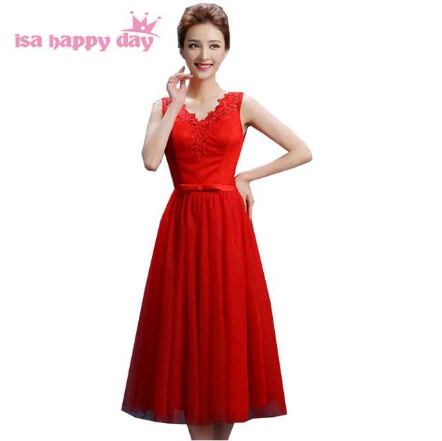 formal attire red puffy tulle birthday sweet 16 homecoming gown ...