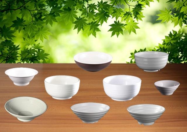 Imitation Porcelain Melamine Dinnerware Soup Bowls Stripes Bowl With Chinese Restaurant A5 Melamine Bowls Melamine Tableware & Imitation Porcelain Melamine Dinnerware Soup Bowls Stripes Bowl With ...