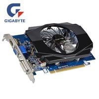 GIGABYTE GT630 2 Гб видеокарта GV-N630-2GI 2GD3 128Bit GDDR3 Графика карты для nVIDIA Geforce GT 630 D3 HDMI Dvi использовать карты VGA