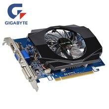 Видеокарта GIGABYTE GT630 2 GB GV-N630-2GI 2GD3 128Bit GDDR3 видеокарты для nVIDIA Geforce GT 630 D3 HDMI Dvi используемые VGA карты