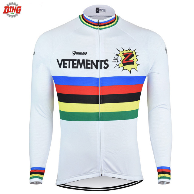 NEW Cycling Jersey Men Long sleeves cycling clothing Breathable bike wear pro  team white Z classical clothes ropa Ciclismo MTB 0534ff2be
