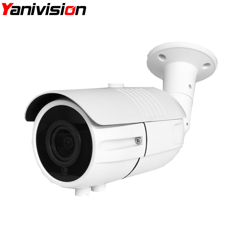 2.8-12mm Motorized Auto Focus Zoom Lens Surveillance CCTV Camera IP Motion Detection Security H.264 H.265 1080P 5MP IP Camera HD