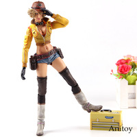 Final Fantasy XV FF15 Cindy Aurum Play Arts Kai Action Figures PVC Collection Model Toys