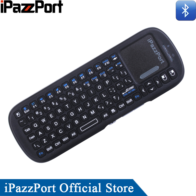 Bluetooth Keyboard For Ipad And Android: IPazzPort Mini Bluetooth Wireless Keyboard And Air Mouse For Android Tablet/iPad/iPhone