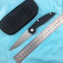 DICORIA F111 Titanium + G10 Handle D2 Blade Portable Folding Knife Outdoor Camping Hunting Fruit Knife EDC цена и фото