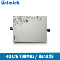 Lintratek 4G LTE 700MHz(Band 28) Signal Repeater 75dB FDD LTE 700MHz Mobile Phone Signal Booster/Amplifier with ALC MGC function