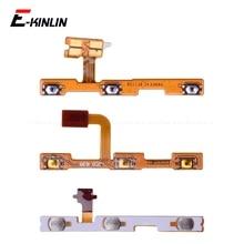 Anahtarı güç kapalı anahtar dilsiz sessiz ses düğmesi şerit Flex kablo için HuaWei P30 P20 Pro P10 P9 artı mini P8 Lite 2017