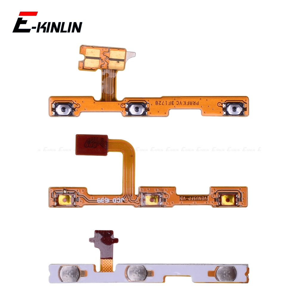 Switch Power ON OFF Key Mute Silent Volume Button Ribbon Flex Cable For HuaWei P30 P20 Pro P10 P9 Plus Mini P8 Lite 2017