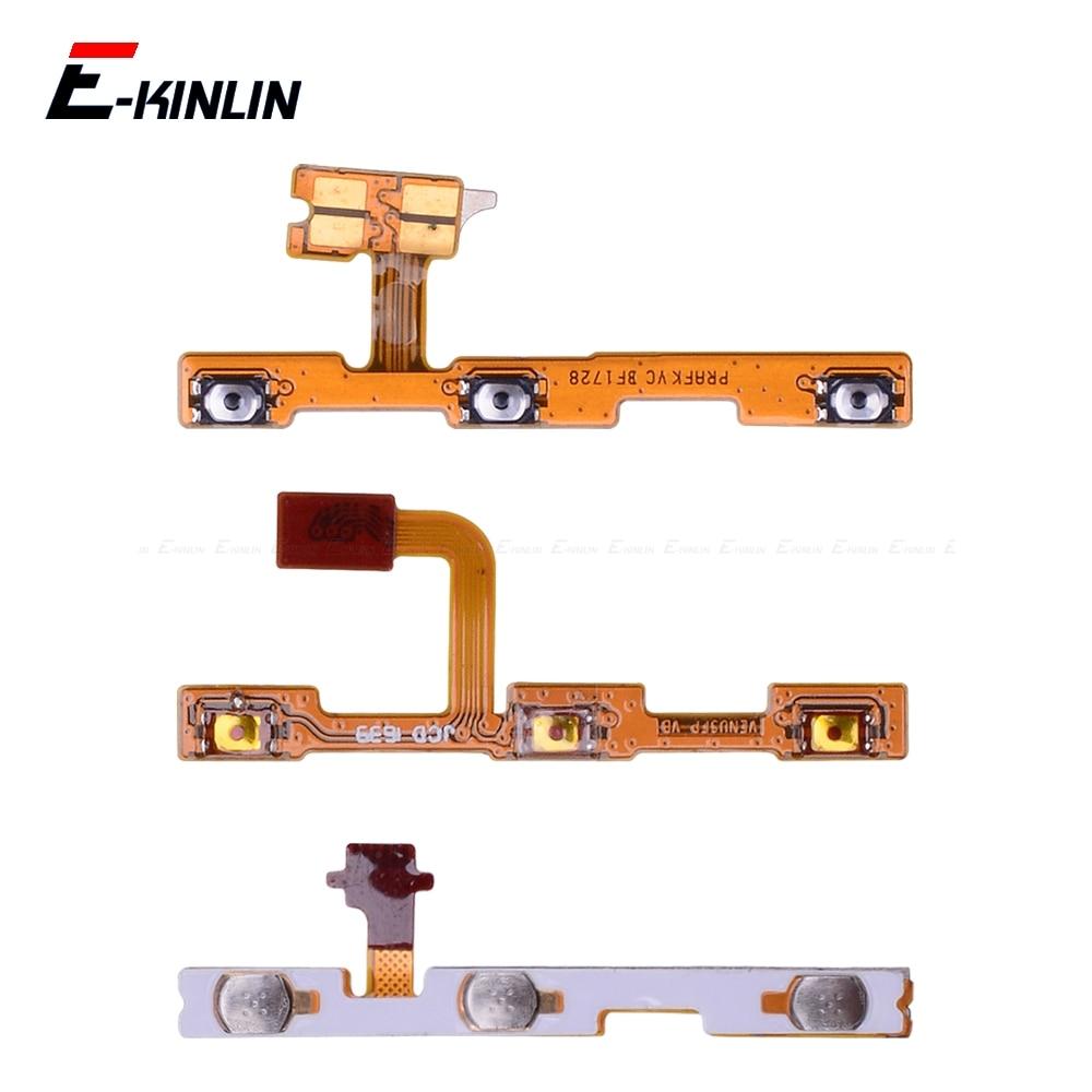 Switch Power ON OFF Key Mute Silent Volume Button Ribbon Flex Cable For HuaWei P30 P20 Pro P10 P9 Plus Mini P8 Lite 2017
