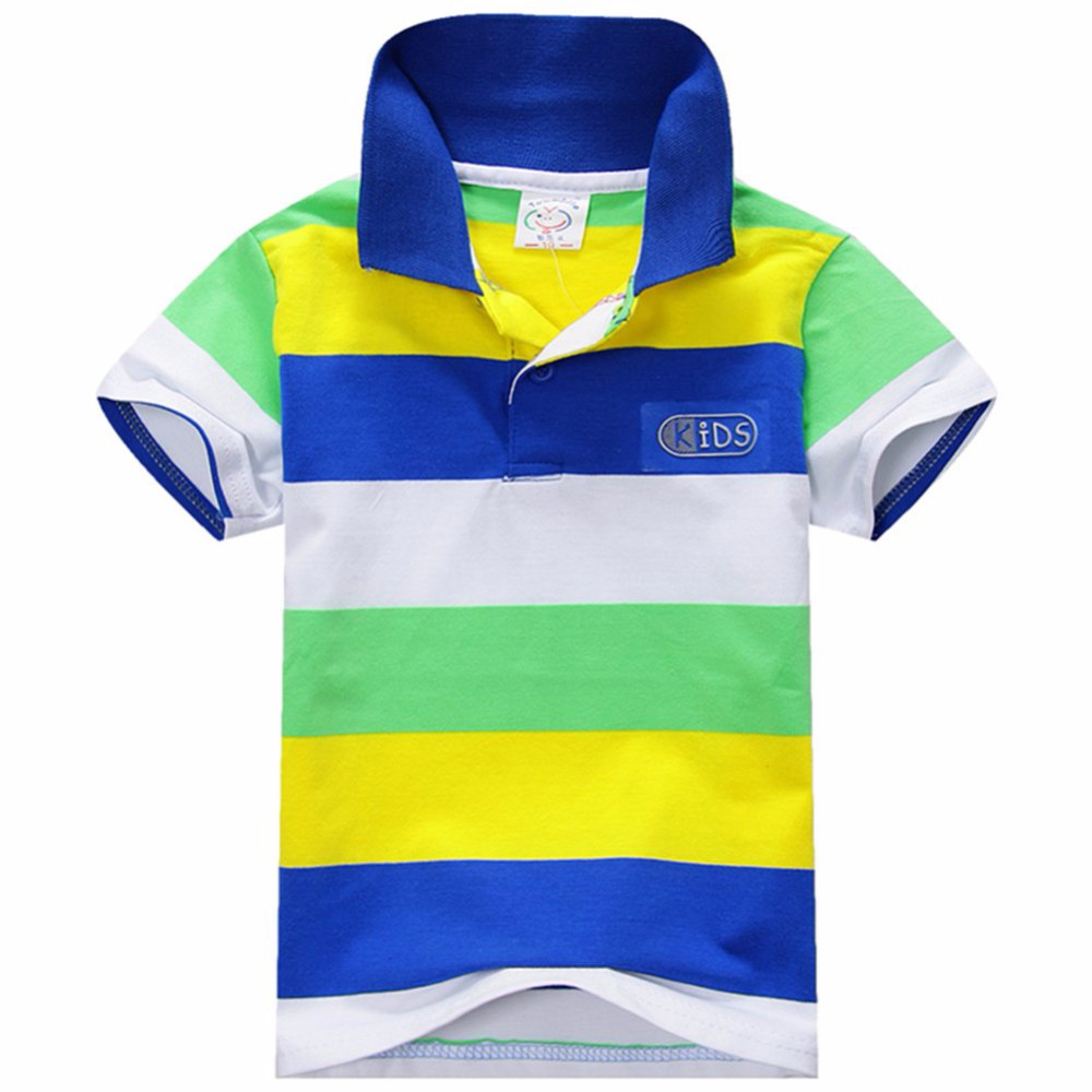 New-Summer-1-7Y-Baby-Children-Boys-Striped-T-shirts-Kids-Tops-Tee-Polo-Shirts-Clothing-1