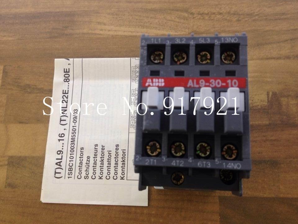 [ZOB] original AL9-30-10 DC contactor DC24V  --2pcs/lot new lp2k series contactor lp2k06015 lp2k06015md lp2 k06015md 220v dc