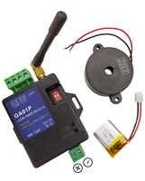 Livraison gratuite nouveau GA01P minil GSM systèmes d'alarme SMS alarmes système de sécurité batterie rechargeable pour alerte de panne de courant