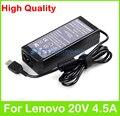90 W 20 V 4.5A universal AC adaptador de corriente para Lenovo IdeaPad G510s G550S G700 G710 S500 táctil S510p Yoga 3 15 Flex 20 cargador