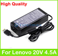 90W 20V 4.5A universal AC power adapter for Lenovo IdeaPad G510s G550S G700 G710 S500 Touch S510p Yoga 3 15 Flex 20 charger