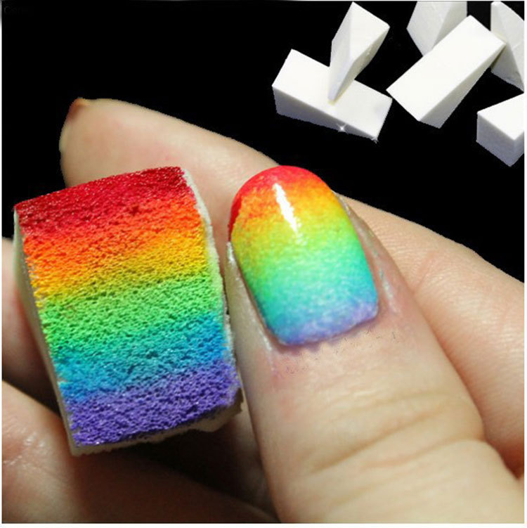 8pcs Grant Nails Soft Sponge For Color Fade Natural Magic Simple Creative Nail Design Manicure Art Tools On Aliexpress Alibaba Group