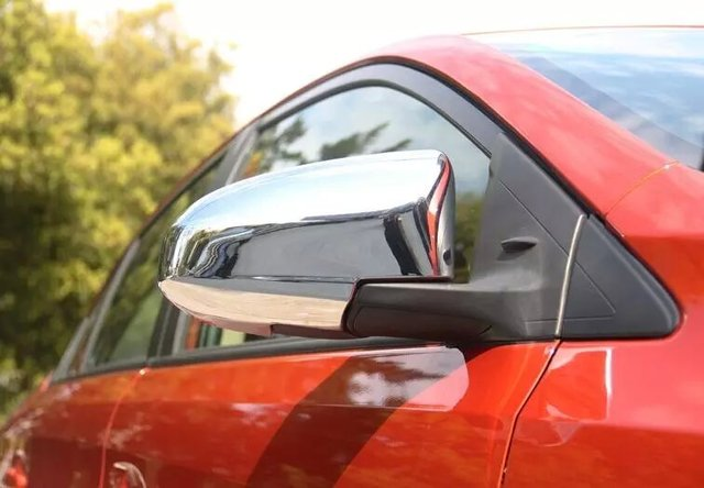 Auto rear view mirror cover,car side mirror cap  for Toyota Yaris 2014 2015,ABS chrome,2pc/lot,free shipping