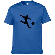 fengfancool brand PlayFootball T Shirt Men women Boy Unique Short Sleeve Cotton Custom Men's T-shirts Size XS S M L XL XXL