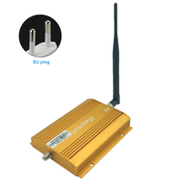850MHz Wireless Easy Install Single Port With Antenna Accessories Signal Booster Kit Repeater Indoor Outdoor Extender Cell Phone