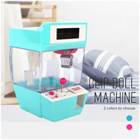 Catcher Alarm Clock Electric Vending Machine Doll Grabber Game Machine Mini Candy Grabber Machine Candy Machine For Child toys