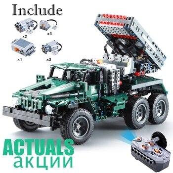 Remote Controlled Rocket Truck Katyusha