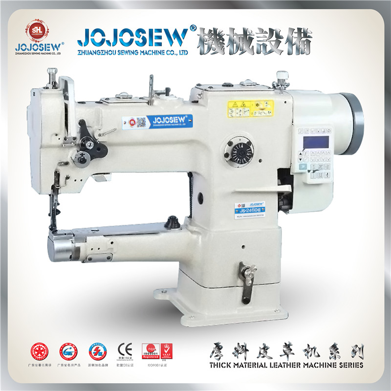246 JS-246DE Computer Direct Drive High-end Car Chrome-tanned Leather Tanned Leather Handmade Sewing Machine