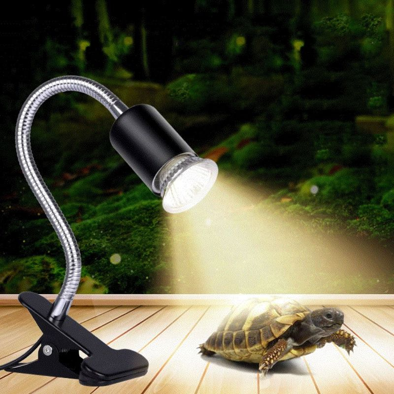 Pets Tortoise Turtle Heating Lamp Light UVA UVB Full Spectrum Sunlamps Emitter Basking Reptile Low-intensity Lights 25W/50W/75W