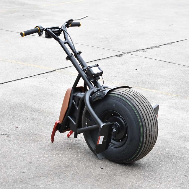New Model Big One Wheel 1000w Powerful Electric Scooter Hoverboard fat tire one Wheels harley Self Balancing Electric Scooter