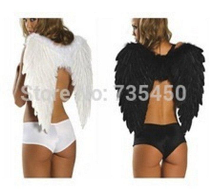 80*60 cm veervleugels Charmant Elegant Gothic Hot Angel Wing Halloween Kostuum feestartikelen bruiloft decoratie verjaardagscadeau