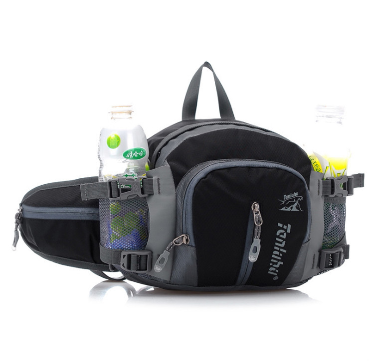 9e39f1c980fc US $23.51 |Travel Bag Hip Bag Large Bumbag Waist Pack Bag Nylon Casual  bumbags Men Waist Bags Motorcycle Fanny Pack Belt Waist Packs Hike-in Waist  ...