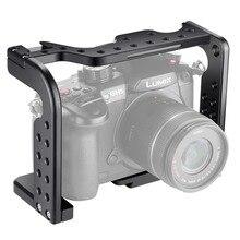 Neewer камера видео клетка для фильм решений Совместимость с Panasonic Lumix GH5/GH5S камера, алюминиевый сплав(черный