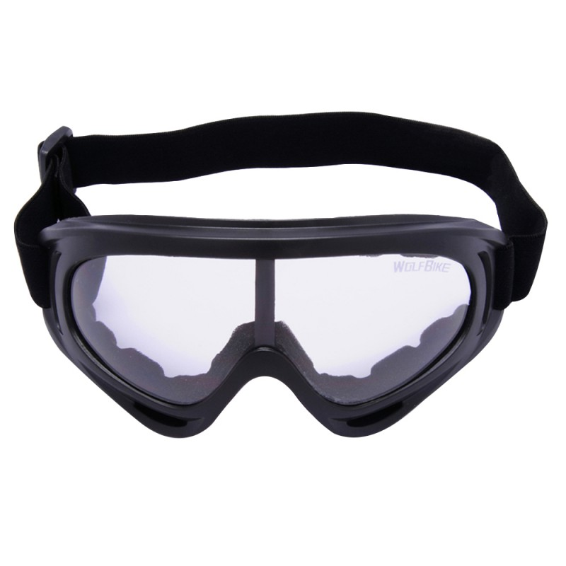 WOLFBIKE Autumn Winter New Windproof Cool Skiing Mirror Riding Glasses Motorcycle Goggles Outdoor Cycling Glasses