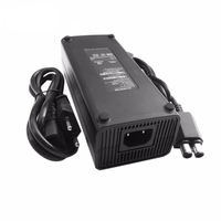 US EU Plug AC Power Adapter 220V Charge Charging Power Cable for Microsoft Xbox 360x 360 Slim 135w Power Supply
