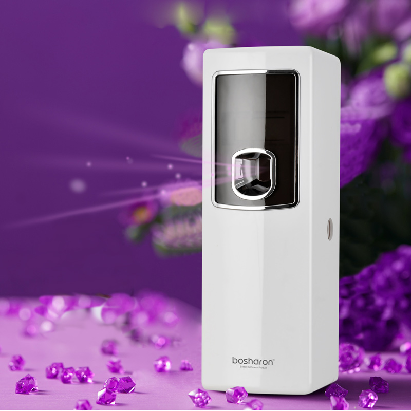 LCD Smart Air Freshener For Homes Automatic Aerosol Dispenser Hotel Bathroom Toilet Fragrance Perfume Sprayer Machine Wall Mount