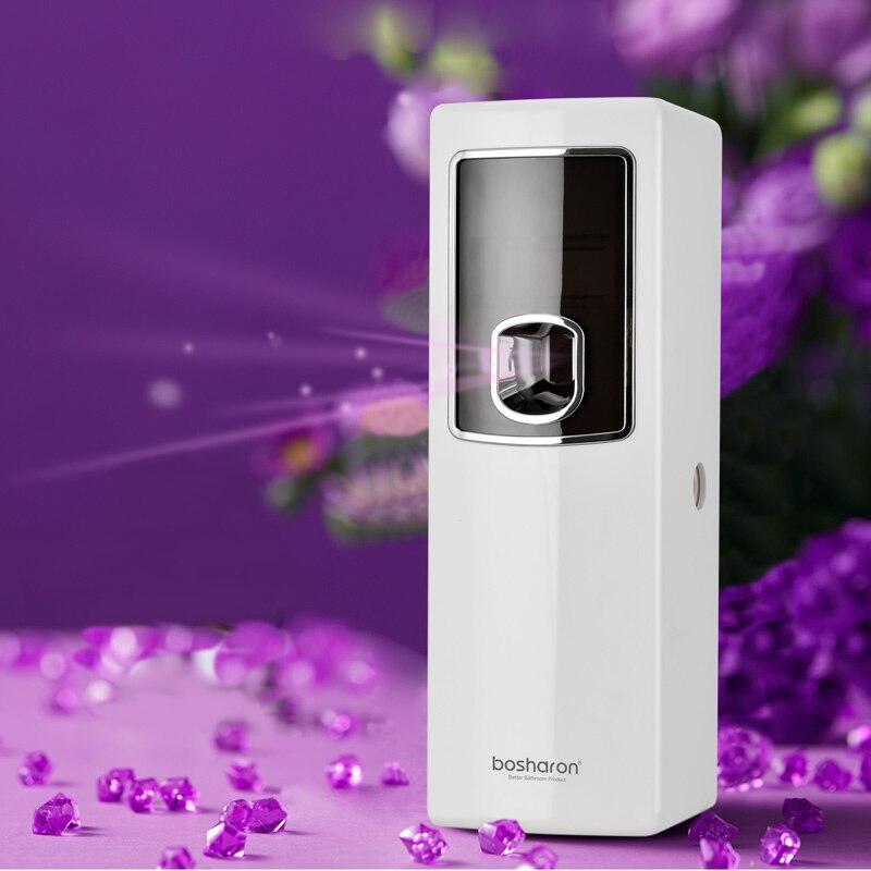 Lcd inteligente purificador de ar para casas automático aerossol dispenser hotel banheiro perfume perfume pulverizador máquina montagem na parede