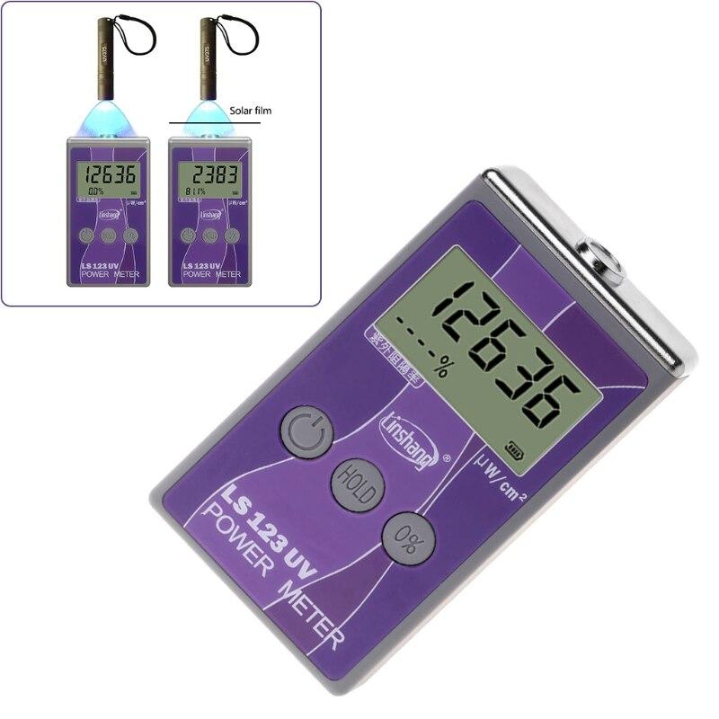 Mesureur De Puissance UV, UV intensité mètre, LS123 Portable Intensité Ultraviolet Testeur, Ultraviolet Puissance Instrument, rejet UV mètre