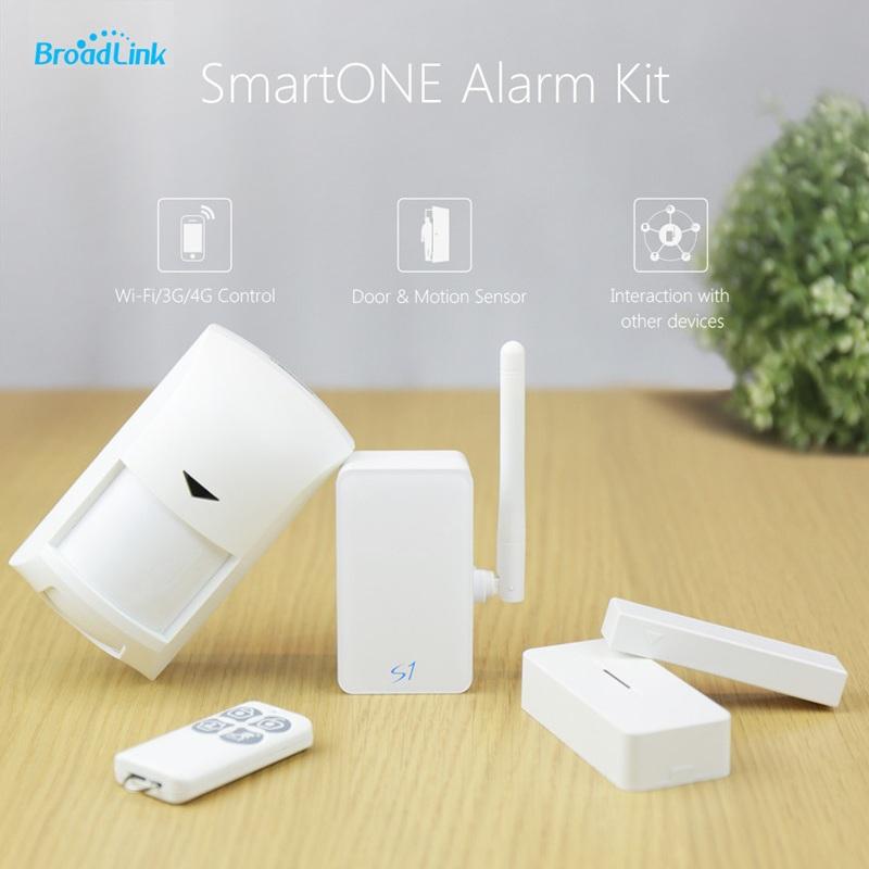 Prix pour Broadlink S1C, Accessoires, intelligent domotique système de Sécurité Système D'alarme Détecteur Capteur Contrôle pour IOS android via 3g/4g