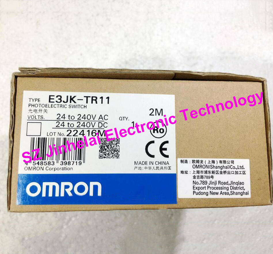 Authentic original OMRON PHOTOELECTRIC SWITCH E3JK-TR11 2M цена