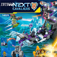 (YNYNOO) 14029 Nexus Knights Building Blocks set Ruina's Lock & Roller Kids gift bricks toys compatible with