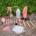16 шт. набор инструментов для садоводства миниатюрная щетка для лопаты ширина суккулент посадочный помощник суккулентные инструменты для с...