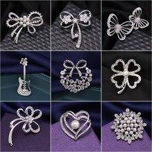 WEIMANJINGDIAN Marka Fabrika Doğrudan Satış Çeşitli Tasarımlar Kristal Metal Broş Pins için 2019 Yaz Wearring Takı