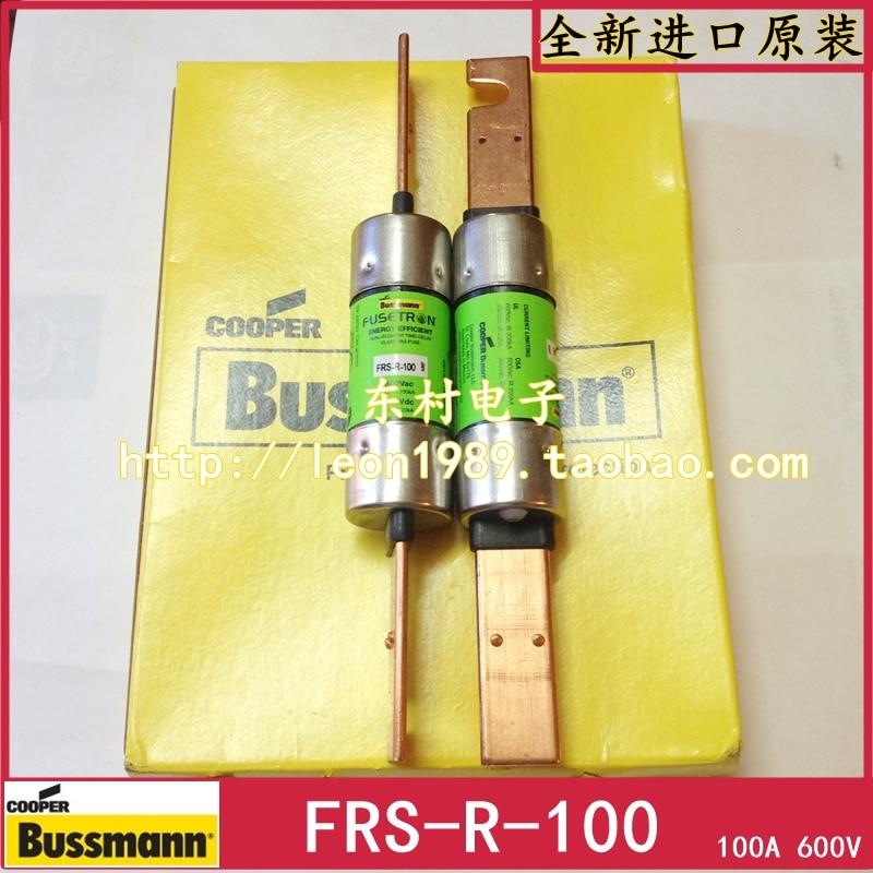 цена на [SA]Original US BUSSMANN fuse FUSETRON CLASS FRS-R-100 600V 100A--3PCS/LOT